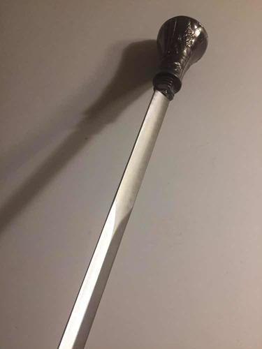 Bastón Espada Estoque Acero Oculto Sable Cosplay Regalo