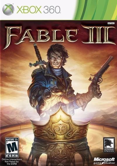 Jogo Xbox 360 Fable 3