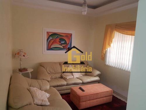 Casa Com 3 Dormitórios À Venda, 123 M² Por R$ 580.000 - Ribeirânia - Ribeirão Preto/sp - Ca0774
