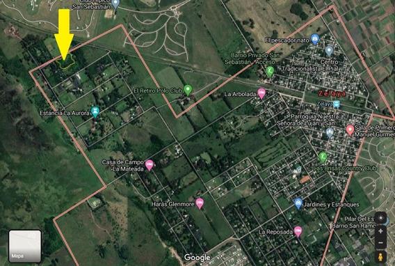 Hectárea Arbolada-zona Quintas-fácil Acceso-con Escritura