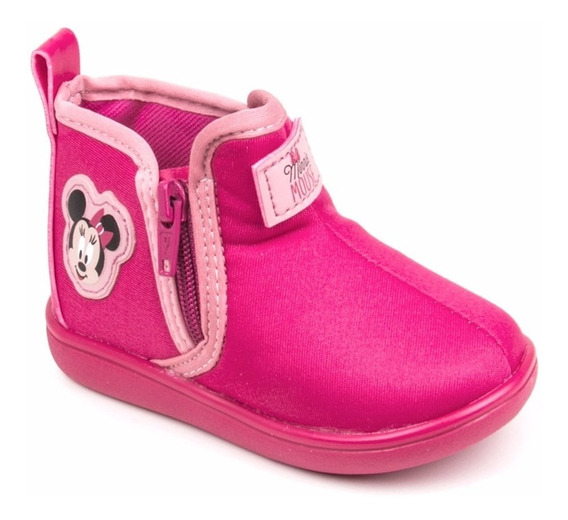 Bota Infantil Feminina Disney Magic Minnie Baby