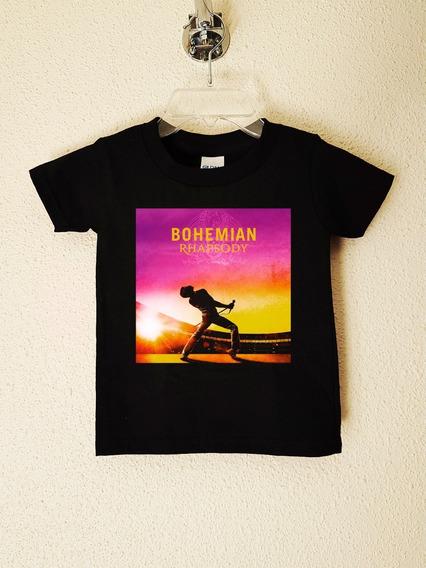 Polera Niños Queen Bohemian Rhapsody The Mo Rock Abominatron