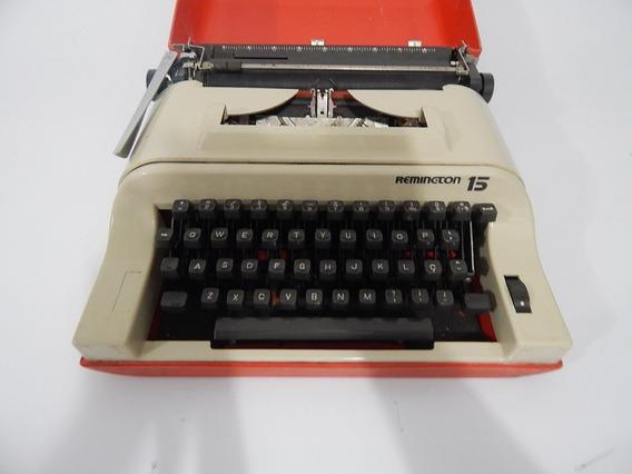 Maquina De Escrever Remington 15 Frete Grátis