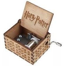 Caixinha Caixa Som Musica Harry Potter Presente De Natal