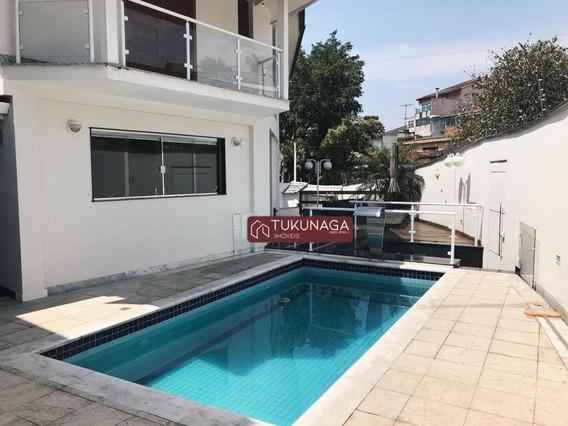 Sobrado Com 4 Dormitórios, 4 Suítes, 365 M² - Jardim Leonor Mendes De Barros - São Paulo/sp - So0815