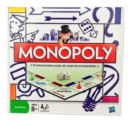 Juego De Mesa Monopoly Popular Familiar Hasbro Envío Full