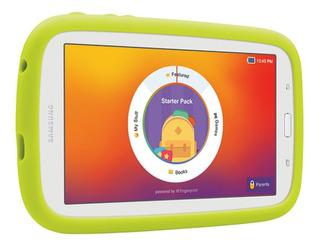 """Tablet Samsung Galaxy Kids Tab E Lite SM-T113 7"""" 8GB white con memoria RAM 1GB"""