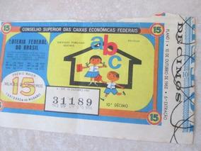 Bilhete Loteria Federal 1962