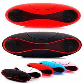 Mini Caixa De Som 3w Rms Com Bluetooth X-6 - Cor Vermelha