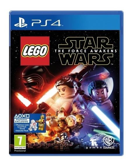 Lego Star Wars The Force Awakens Ps4 Mídia Física Lacrado