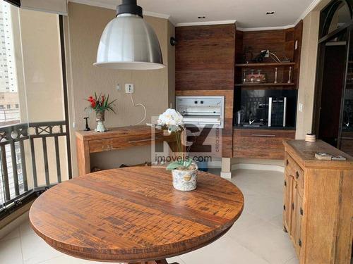 Apartamento À Venda, 215 M² Por R$ 1.589.000,00 - Boqueirão - Santos/sp - Ap7424