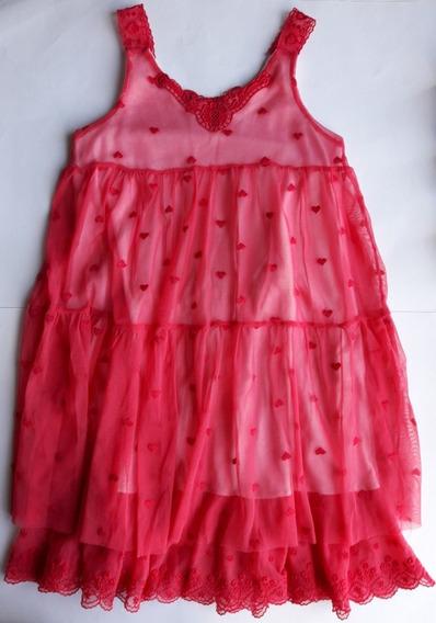 Vestido Cheeky Nena Talle 4 Tul Impecable!!