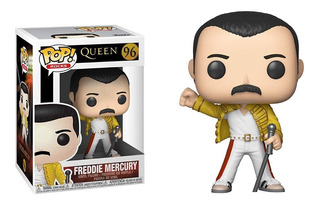 Funko Pop Freddie Mercury Wembley #96 Queen Regalosleon