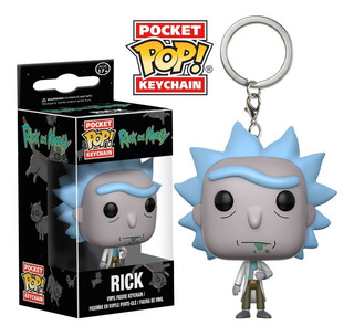 Llavero Funko Pop Keychain R&m - Rick