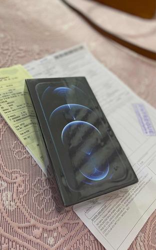 iPhone 12 Pro Azul Pacífico 128gb Lacrado