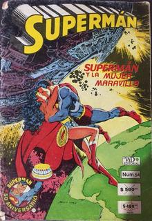 Comic Vid Superman Y La Mujer Maravilla