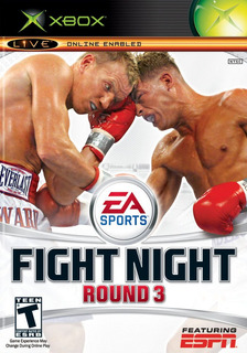 Fight Night Round 3 Xbox 360 Cd Juego Fisico Sellado