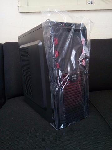 Cpu Pentium G620-2.6ghz-gamer -gabinete 3 Baias-fonte 500w