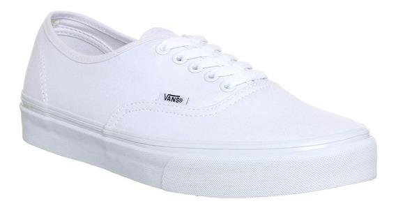 Tenis Vans Authentic Branco Original Com Nota Fiscal