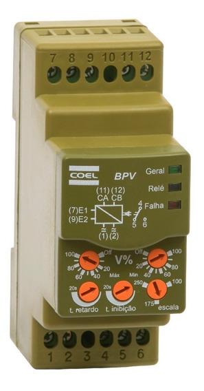 Monitor De Tensão Monofásico Max E Min Bpv 24 A 240v Coel