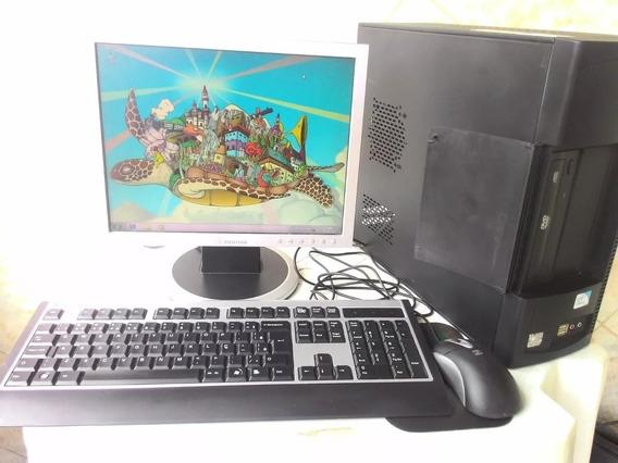Computador 320gb Hd Mais 6gb De Ram 1 Gb De Placa De Video
