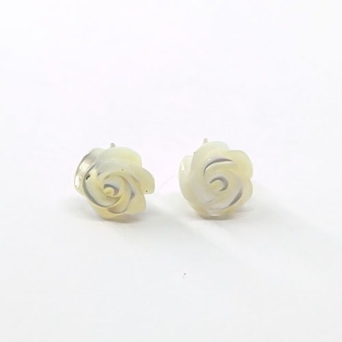 Brinco Madre Pérola Rosa Pequena - Id 3568