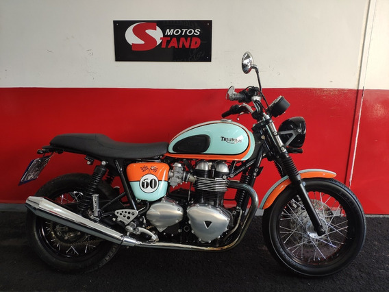 Triumph Thruxton 865 2014 Verde