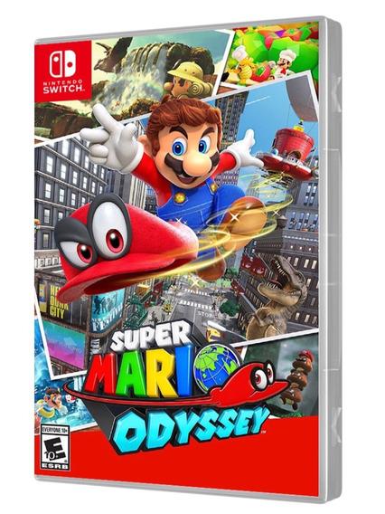Jogo Nintendo Switch Super Mario Odyssey Ou Super Smash Bros