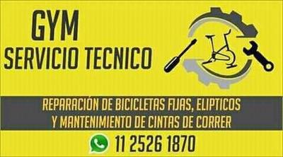Servicio Técnico De Cintas De Correr, Bici Fija Y Elipticos