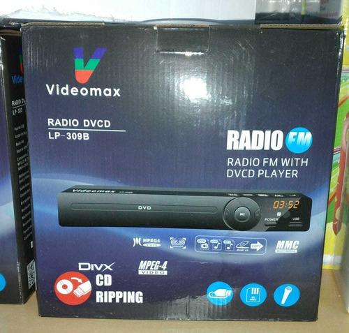Reproductor Dvd Videomax Hd Multimedia Sd/mmc/usb/cd/aux/fm