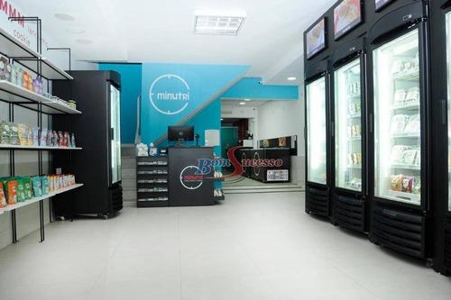 Salão À Venda, 150 M² Por R$ 1.400.000,00 - Tatuapé - São Paulo/sp - Sl0151
