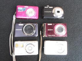 Maquinas Fotografica Pra Conserto Ou Retirar Peça