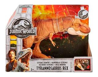 Jurassic World Tyrannosaurus Rex Mandíbulas Extremas Ftt21