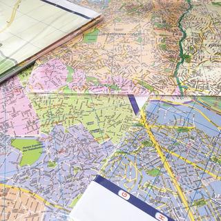Mapa Parcial Cidade São Paulo Centro Zona Sul Norte Leste