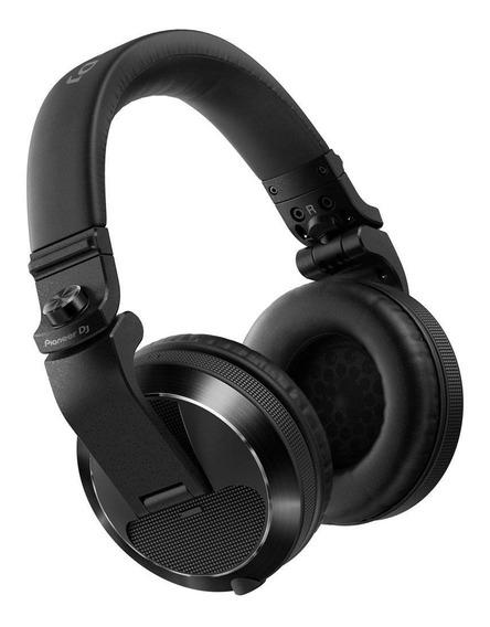 Fone De Ouvido Pioneer Dj Headphone Hdj-x7 Preto