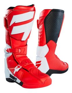 Bota Fox Motocross Enduro Shift Whit3 Label Rojo