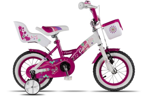Bicicleta Aurora Flower R12 Nena
