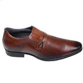 f56b53dd7b Sapato Social Da Pegada Marrom - Sapatos no Mercado Livre Brasil