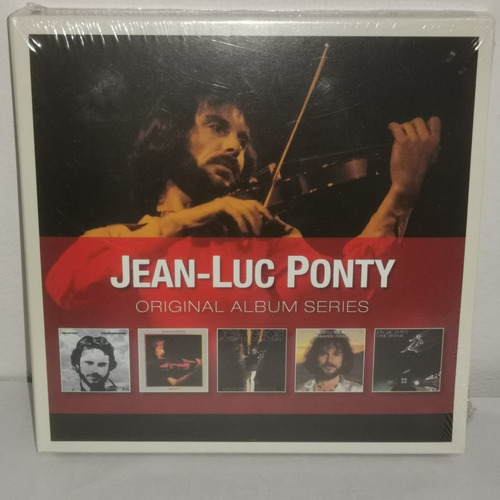 Jean Luc Ponty Original Album Series Vol 1 Nuevo Musicovinyl