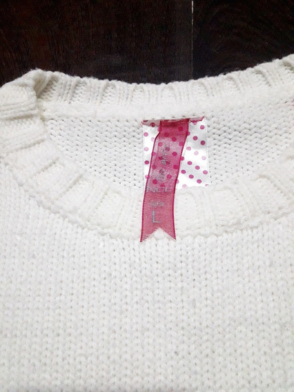 Sweater De Lana De Nena Hermoso.!!!