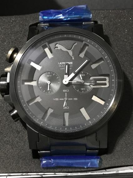 Relógio Cronógrafo Puma Ultra Size Black