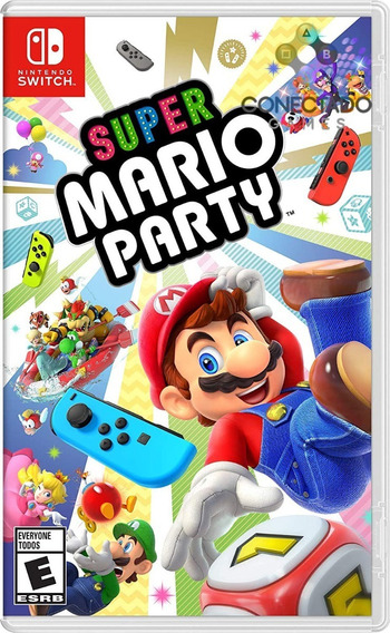 Super Mario Party Nintendo Switch Mídia Física Lacrado