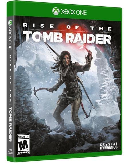 Rise Of The Tomb Raider Xbox One Midia Fisica Cd Original Br