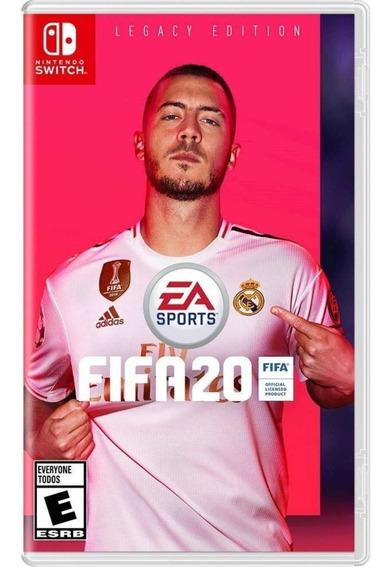 Fifa 20 Switch Mídia Física Novo Lacrado Original
