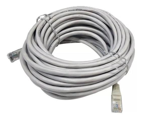 Cable De Red Utp 20 Metros Armado Lan