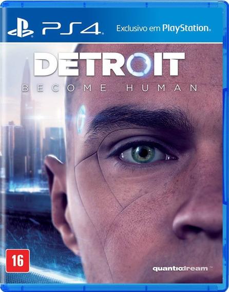 Jogo Sony Detroit Become Human Ps4 Blu-ray - Mídia Física