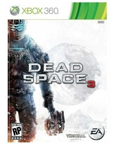 Dead Space 3 Xbox 360 / Xone Mídia Física Semi Novo