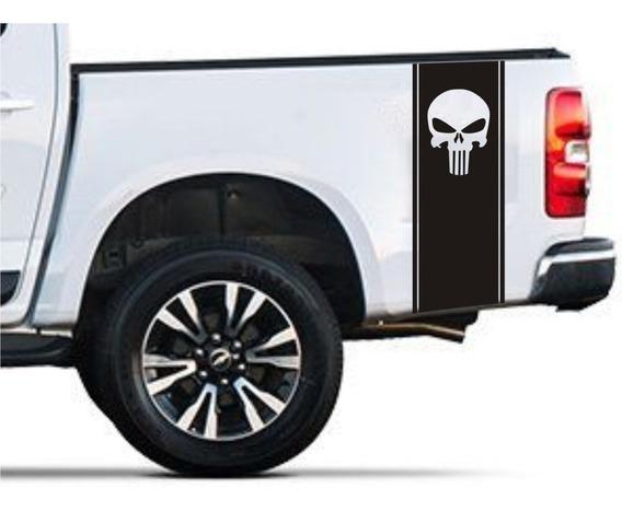 Franjas Laterales Camionetas 03 Punisher Graficastuning