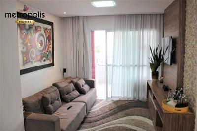Apartamento Com 3 Dormitórios À Venda, 107 M² Por R$ 700.000 - Barcelona - São Caetano Do Sul/sp - Ap1995