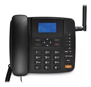 Telefone Rural Celular Fixo Mesa Gsm Dual Chip Desbloqueado